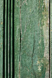 老被绘的木纹理 免版税库存照片