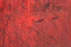 老被绘的胶合板纹理 免版税库存照片