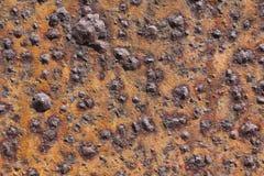 老被腐蚀的铁 库存图片