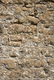 老被风化的外部石墙建筑充分的框架背景 免版税库存照片