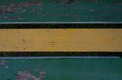 老被风化的木椅子铺板纹理 免版税库存图片