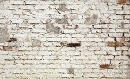老被风化的砖墙样式 库存照片