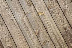 老被风化的谷仓木头,钉子, 库存照片