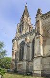 老被破坏的天主教会在塞尔维亚 库存图片