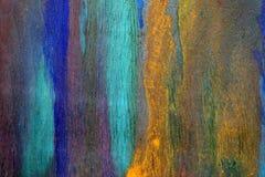 老被绘的五颜六色的抽象背景 免版税图库摄影