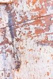 老被绘的小船片断  库存照片