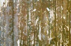老被绘的木板条背景  免版税库存图片