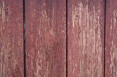 老被绘的木板 免版税库存图片