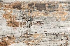 老被绘的木纹理 免版税图库摄影