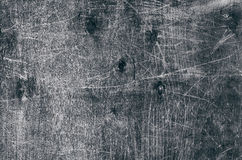 老被绘的木表面饰板纹理与污点的 库存照片
