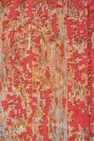 老被绘的木头,纹理背景 免版税库存图片