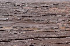 老被绘的木头 库存图片