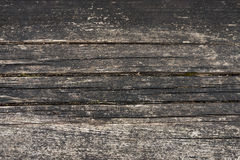 老被绘的木头 免版税图库摄影