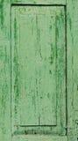 老被绘的门的片段 免版税图库摄影