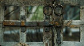 给老装门 免版税库存照片