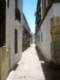 老西班牙城镇 免版税库存图片