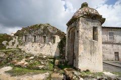 老西班牙堡垒在Portobelo巴拿马 免版税图库摄影