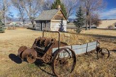 老西部摩门教先驱遗产公园Panguitch犹他美国 免版税库存图片