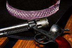 老西部枪 免版税库存照片
