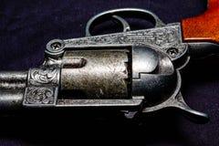 老西部枪 免版税库存图片