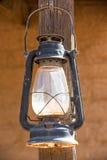 老西部灯笼的垂直的图片 库存图片