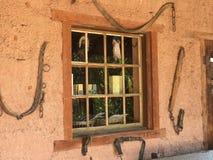 老西部窗口 库存图片