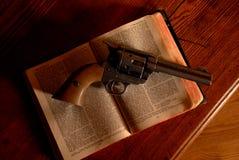 老西部遵守的法律 库存图片