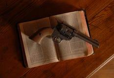 老西部遵守的法律 免版税库存图片