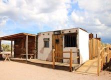 老西部Apacheland监狱-亚利桑那,美国 免版税库存照片