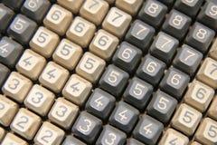 老计算器键盘 图库摄影