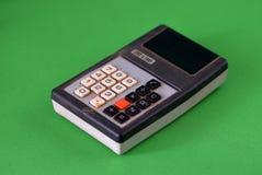 老计算器 免版税图库摄影