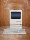 老计算机桌面 库存图片