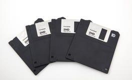 老计算机磁盘 免版税图库摄影