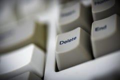老计算机键盘 库存照片