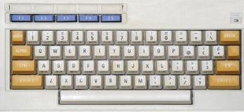 老计算机键盘 免版税库存照片