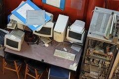 老计算机 库存图片