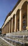 老议会大厦在第比利斯 佐治亚 免版税图库摄影
