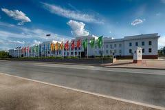 老议会安置,堪培拉,澳大利亚 库存照片