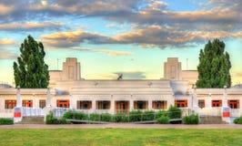 老议会安置,服务从1927年到1988年 堪培拉,澳大利亚 库存照片