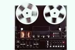 老记录员磁带 免版税库存照片