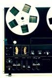 老记录员磁带 免版税库存图片