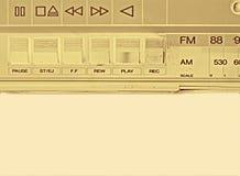 老记录员磁带 图库摄影