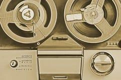 老记录员磁带 库存照片