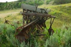 老设备农场 免版税库存图片