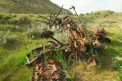 老设备农场 库存图片