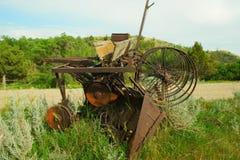 老设备农场 免版税图库摄影