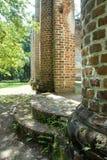 老谢尔登教会废墟  图库摄影