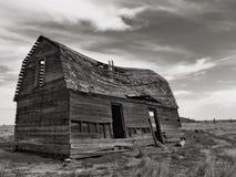 老谷仓或房子 库存照片