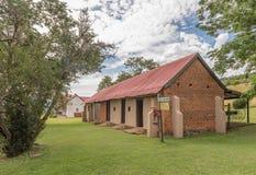 老谷仓,在塔拉纳博物馆,邓迪的一个历史建筑 免版税图库摄影