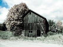 老谷仓的低颜色 库存图片